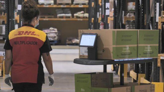 DHL aumenta un 22% sus ingresos en el primer trimestre
