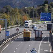 El País Vasco refuerza la inspección de camiones durante esta semana