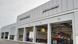 Mercedes-Benz Trucks inaugura un nuevo taller en Barcelona