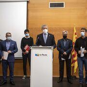Alcaldes de Tarragona cargan contra el Corredor Mediterráneo por la costa