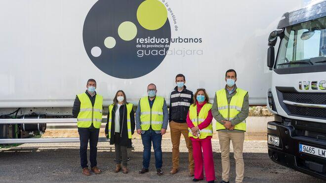 El Consorcio de Residuos de Guadalajara incorpora nueve vehículos de transporte