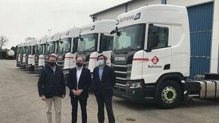 Scania entrega diez tractoras a Baltransa