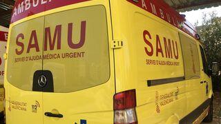 Fallece un hombre tras volcar el camión en la provincia de Castellón