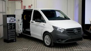 Mercedes-Benz desarrolla una versión de la Vito eléctrica con hasta 482 km de autonomía