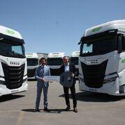 ESP Solutions compra a Iveco 300 unidades del S-WAY con motor de gas natural