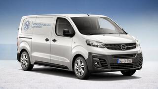 Opel Vivaro-e Hydrogen: 400 km de autonomía y tres minutos para repostar