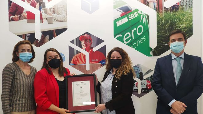Seur recibe el certificado ISO 45001 de Aenor