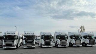 Scania entrega seis tractoras a Villart Logistic