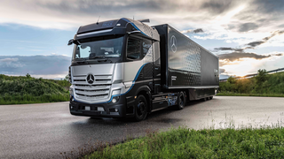 Daimler Trucks va en serio con la pila de combustible