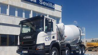 Áridos y Hormigones Hispalenses incorpora tres Scania XT