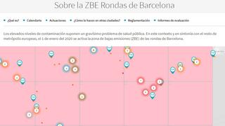 Barcelona amplía hasta fin de año el acceso de camiones sin distintivo ambiental