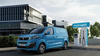 Peugeot anuncia el e-Expert con pila de hidrógeno para este año