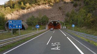 La A-15 entre Berastegi y Andoain tendrá restricciones durante diez meses