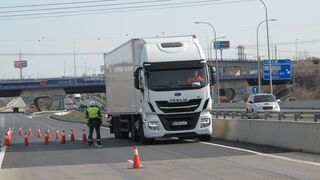 Intervenido un camión con 330 kilos de hachís en Pontevedra