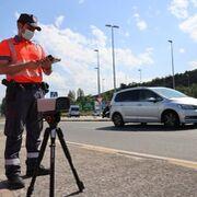 La Policía Foral de Navarra desarrolla una aplicación para detectar conductores sin carné
