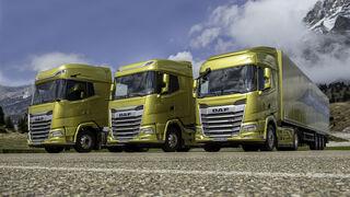 XF, XG y XG+. Así es la nueva generación de camiones pesados de DAF