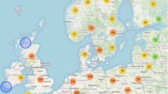 Los fabricantes señalan dónde deberían ubicarse los cargadores de camiones eléctricos