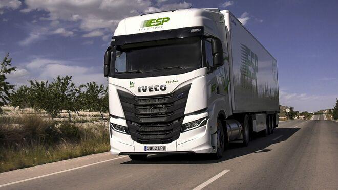ESP Solutions anuncia un ahorro anual de emisiones de CO2 de 2.000 t tras adquirir 300 Iveco de GNL
