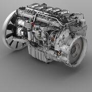 ¿Cuál es la arquitectura de los motores en el transporte de larga distancia?