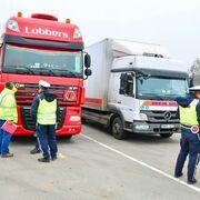 Casi el 5% de los camioneros europeos excede la velocidad permitida