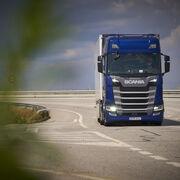 Prueba del Scania 540 S. De cine ...