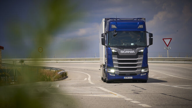 Prueba: Scania 540 S Highline (I). De cine ...