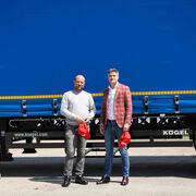 Kögel entrega 30 semirremolques lonas a Blue River Bucuresti