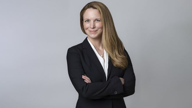 Meagan Fitzsimmons, directora de compliance de GXO Logistics
