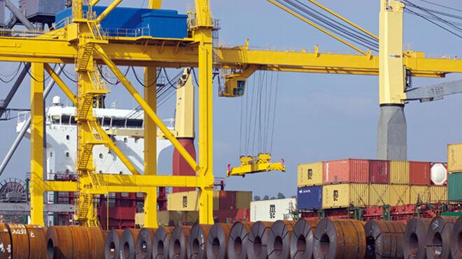 Los camiones de graneles sólidos entrarán al Puerto de Gijón por el túnel de Aboño