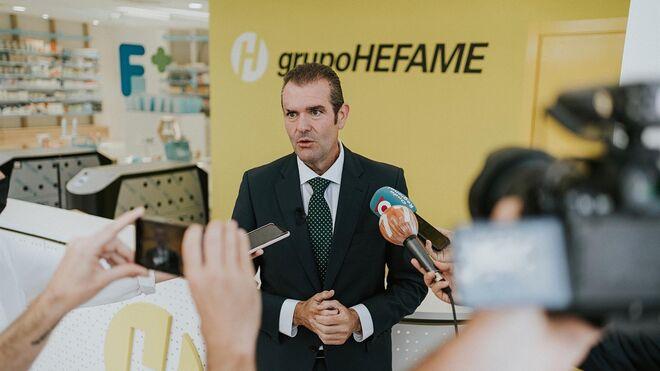 Hefame prueba el almacén de distribución farmacéutica con más capacidad de España