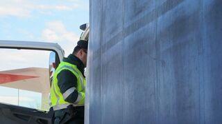 Detenido un conductor por manipular el tacógrafo de su camión en Palencia