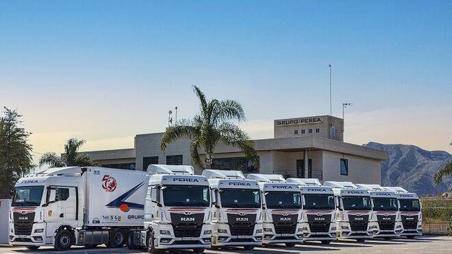 El Grupo Perea adquiere 100 unidades del MAN TGX
