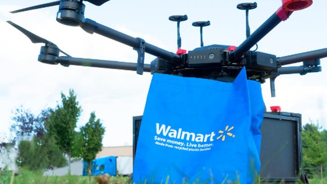 El cielo es el límite: los supermercados avanzan en la entrega a domicilio con drones