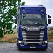 Prueba del Scania 540 S (II). De cine ...