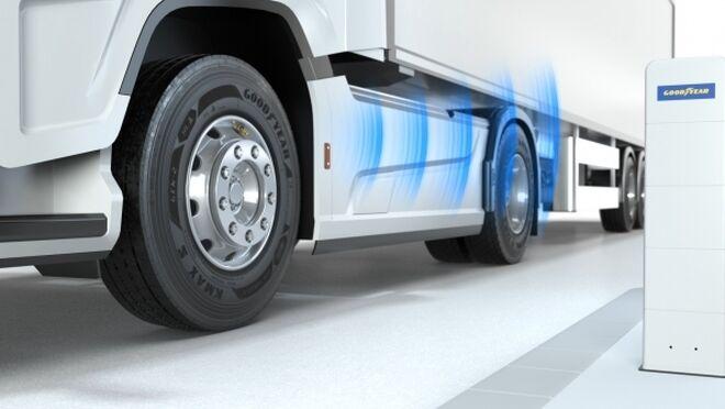 Goodyear lanza una solución para medir la presión de los neumáticos