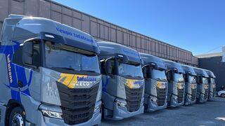 Iveco entrega siete S-WAY al Grupo Tafatrans