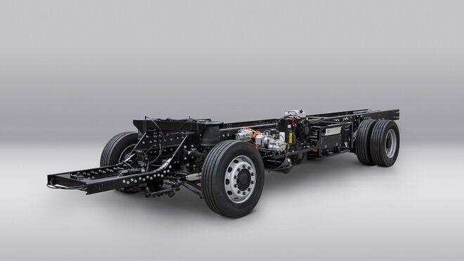 Volta presenta el chasis prototipo de su camión eléctrico de 16 toneladas