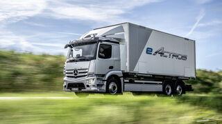 Mercedes-Benz eActros. Mucho más que un camión eléctrico