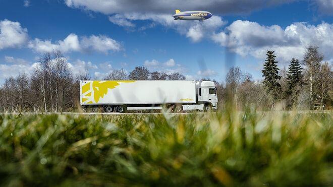 Goodyear propone varios neumáticos para reducir las emisiones de los camiones