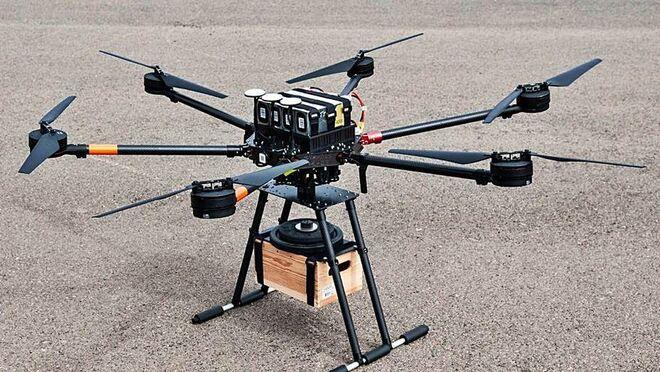 El Puerto de Santa Cruz de Tenerife contará con un servicio de transporte en drones de mercancía ligera