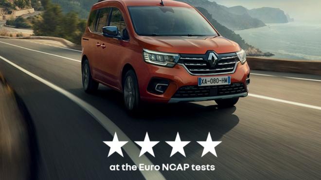 El nuevo Renault Kangoo ya pasó el test Euro NCAP 2021