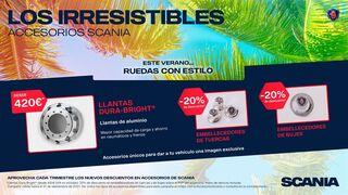 Scania lanza una nueva promoción para las ruedas