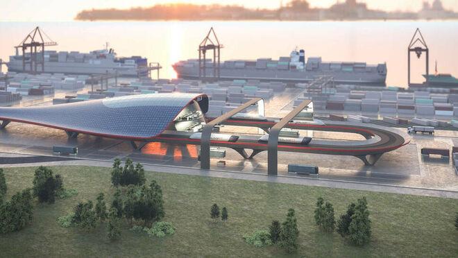 El transporte supersónico de Elon Musk diseñado en España