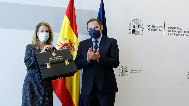 """Raquel Sánchez apunta a la """"automatización"""" del transporte de mercancías"""