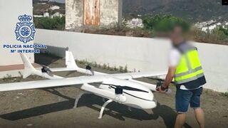 Intervenido un dron acondicionado para el transporte de droga entre Marruecos y España