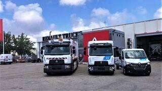 Renault Trucks forma su red oficial de vehículos industriales eléctricos
