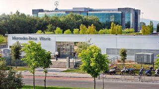 Mercedes-Benz Vitoria suspende producción por problemas de abastecimiento