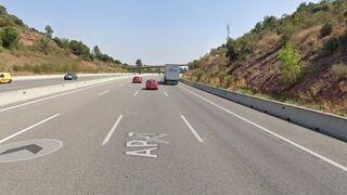 Los Mossos paran a un camionero con un 264% de exceso de carga