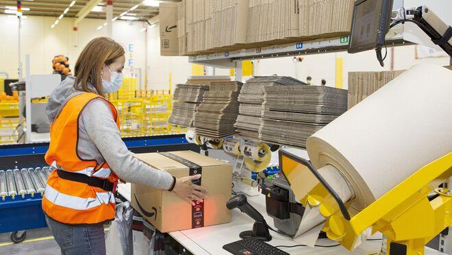 Amazon creará más de 60 empleos con su estación logística de Valladolid