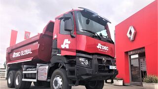 Renault Trucks Barcelona entrega K 6x6 DTI 440 cv a Adec Global